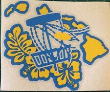 6� Hawaii Disc Golf Vinyl Decal
