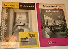 Anbaumöbel Einbaumöbel Bauwelt Sonderheft 31-32 ANCIEN magazine MEUBLE vintage