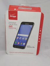 Samsung Galaxy J3(6) 4G LTE with 8GB Memory Prepaid Cell Phone - Black * Verizon