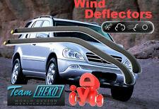Mercedes W163 M class  1998 - 2005  Wind deflectors  HEKO  23226 for FRONT DOORS