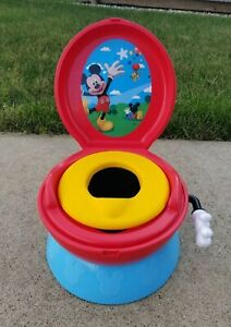 The First Years Mickey Mouse 3 in 1 Potty Training system, Toddler Training Seat