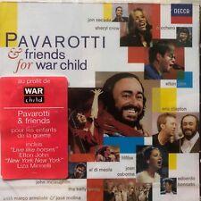 NEW- NEUF - CD -CD Pavarotti And Friends For War Child - Al Di Meola,Elton John