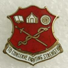 US Military Insignia Unit Crest Pin Academy Health Sciences Fort Sam Houston