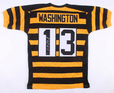 James Washington Signed Pittsburgh Steelers Bumble Bee Jersey (Player Hologram)