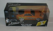Fast & Furious Car Brian's Toyota Supra R/C Scale 1:24  MB  FREE SHIPPING