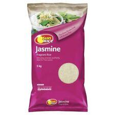 Sunrice Gluten Free Aromatic Fluffy Long Grain Jasmine Fragrant Rice 5Kg