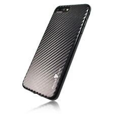 PULSARplus® iPhone 8 iPhone 7 Hülle Handy Case Schutzhülle Bumper Carbon Schwarz