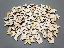 50 x 20mm A7 MDF Butterflies  Laser Cut Embellishments Wooden Craft Shapes Sale