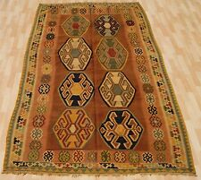 home decor kilim rug tribal kilim rug hand woven rectangle wool area rugs 5X9ft