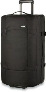 Dakine Split Roller EQ 100L Bag Travel Wheeled Luggage Black New