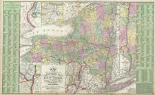 1854 Mitchell Map of New York State