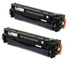 2PK CC530A  Black Toner Cartridge For HP CM2320fxi CM2320n CP2025n CP2025dn