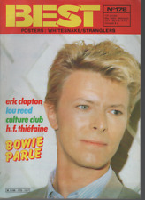 REVUE : Best 178 (+ posters) David Bowie Eric Clapton Culture Club Whitesnake