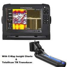 Lowrance HDS-7 Carbon Chartplotter/fishfinder MFD: TotalScan Transducer & Charts