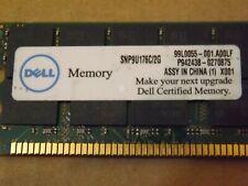Dell 2Gb Pc2100 266Mhz 36-chips Cl2.5 Ecc Reg Snp9U176C/2G for Server