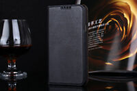 Genuine Leather Luxury Wallet Stand Case Cover for Samsung Galaxy S5 i9600
