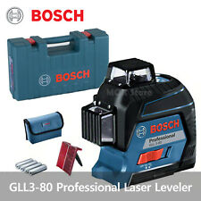 Bosch Laser Level GLL3-80 Professional L-BOXX Set / Self Leveling Line Laser 30M