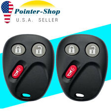 2 Keyless Entry Remote Key Fob for Tahoe Silverado Yukon Sierra H2 for LHJ011