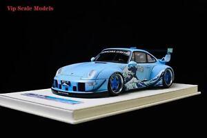 PreOrder Vip model 1:18 Porsche RWB993 Kanagawa surfing 299 LTD