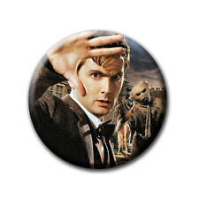 David Tennant - The Doctor / Doctor Who - Kühlschrankmagnet mit Ø 60 mm [M1]