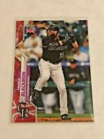 2020 Topps Baseball UK Edition Big Ben Parallel /99 - Charlie Blackmon - Rockies