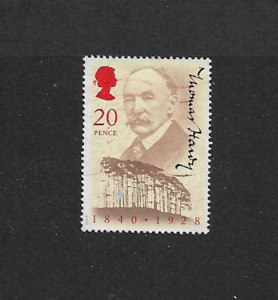GB 1990 - Thomas Hardy - Used and lightly cancelled.