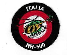 [Patch] ITALIA NH-500 diametro 8 cm toppa ricamata ricamo REPLICA - 189