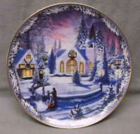 LITTLE CHURCH IN THE VALE Bradford Christmas in the Village Plate 2nd Edition
