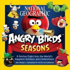 National Geographic Angry Birds Seasons: A Festive Flight Into the-ExLibrary