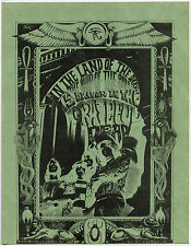 GRATEFUL DEAD * RICK GRIFFIN Original 1967 DEBUT 1ST LP PROMOTIONAL Handbill #3