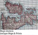Maps etc.  Antique Maps & Prints