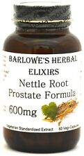 NETTLE ROOT PROSTATE FORMULA 5% Beta-Sitosterol, Stearate Free, Bottled in Glass
