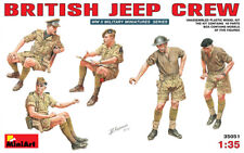 Miniart 1/35 WWII British Jeep Crew # 35051 @