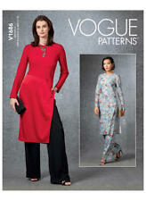 Vogue V1686 PATTERN - Misses Tunics & Pants - Size XS-XXL - BN
