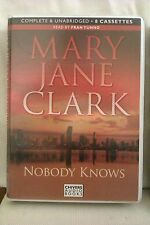 Nobody Knows by Mary Jane Clark: Unabridged Cassette Audiobook (QQ2)