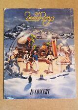 The Beach Boys In Concert, 1980 World Tour Program