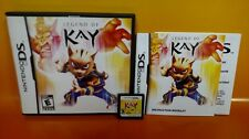 Legend of Kay - Nintendo DS DS Lite 3DS 2DS COMPLETE Game - Very Rare