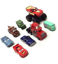 Disney Pixar Movies CARS caracteres Die Cast Figura Juguete Lote Con Monster Truck