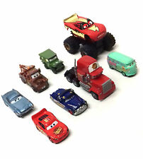 Disney Pixar Movies CARS Characters Die Cast figure toy lot with Monster truck