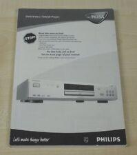 Philips DVD 963sa Manuel d'utilisation (multilingue, également en allemand)