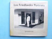 Lee Friedlander Portraits with Foreword by R.B. Kitaj 1985 HB/DJ First Edition