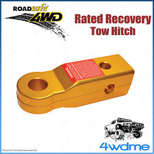 4WD Aluminium Recovery Tow Hitch 5Tonne Rated Snatch Strap Offroad Accessory