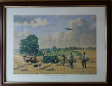 WARTIME HARVEST By Robin Wheeldon Signed VERY RARE ARTISTS PROOF Print Framed