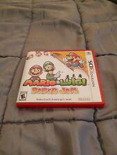Mario & and Luigi: Paper Jam (Nintendo 3DS, 2016) Complete