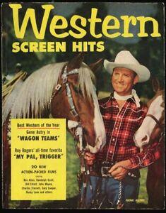 Western Screen Hits Vol 1 #1 -1952 fn 6.0 Gene Autry John Wayne Roy Rogers