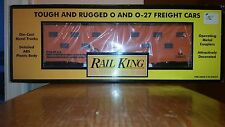 1999 MTH Rail King, Conrail Illuminated Bunk Car, # 30-7920, 0/027, NIB