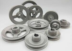 Aluminium Light Pulley Wheel Ring Industrial Machine Parts Belt Rolling Metal