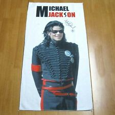 Michael Jackson Handtuch,kopfkissen Decke 75cm x 40cm für MJ Fans 05711