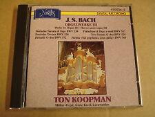 CD NOVALIS / BACH - ORGELWERKE III / TON KOOPMAN