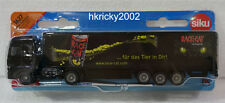 Siku Super 1627 1:87 Man Black Race Cat Energry Drink Truck and Trailer Model